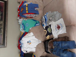 Baby boy clothes 6 to 12 mos