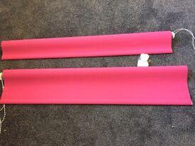 4ft Fushia roller blinds