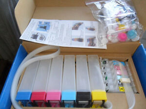 Epson Artisan 800 810 835 837, Continuous Ink System, Bulk Ink