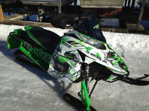 2013  Arctic cat RR  1100 turbo