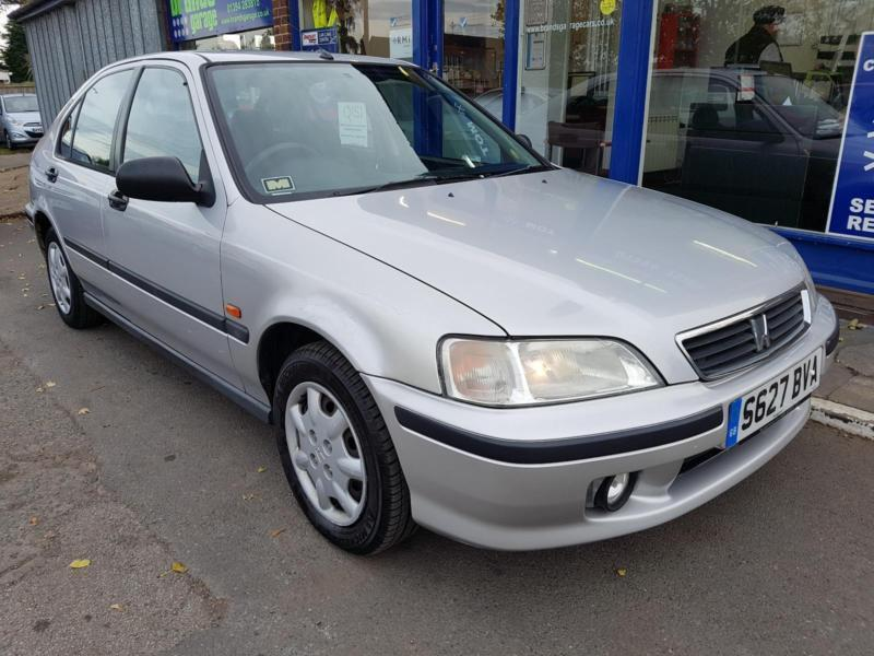 1998 HONDA CIVIC 1.4 5 DOOR MANUAL 124K MOT FEB 2018