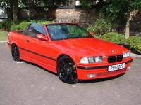 EXCELLENT EXAMPLE!! 1996 BMW 3 SERIES 2.8 328i 2dr CONVERTIBLE, FULL LEATHER, LONG MOT, WARRANTY