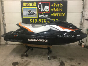 2012 SEADOO GTI SE 155. LIKE NEW LOW HOURS SEA DOO W/TRAILER