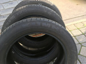 KUHMO all season 225/55/19 tires