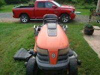 "2009 Husqvarna Tractor with 54"" Mowing Deck"