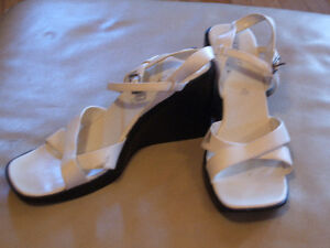 Used ladies shoes, sandals, boots, size 10, $5 each pair Sarnia Sarnia Area image 6