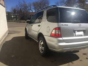 Super clean suv 2003 Mercedes-Benz ml 350 SUV Crossover