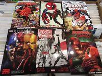 Marvel DC Image Manga Graphic novels books Deadpool Harley Quinn saga dragon Ball Doctor strange