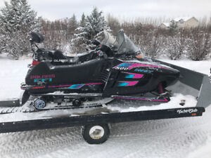 Polaris 500efi and 700xlt touring for sale