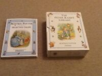 The Peter Rabbit Library and Selected Beatrice Potter tales, Excellent condition