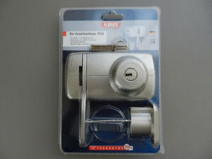 NEW ABUS 7035 maximum security door rim lock - GERMANY