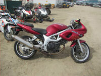 2001 SUZUKI SV 650/S FOR WHOLE/PARTSS OR TRADE FOR A QUAD.