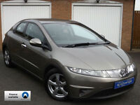 2006 (56) Honda Civic 1.8i-VTEC SE 5 Door // FULL LEATHER TRIM //