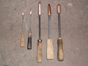 ANTIQUE SOLDERING IRON COLLECTION