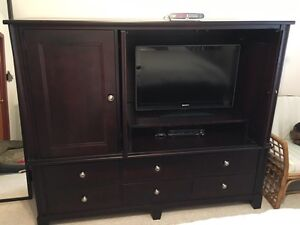 Bed room armoire/tv stand