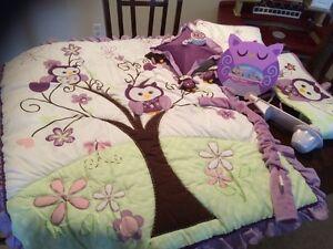 Babygirl crib set