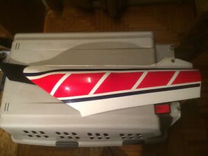 1985 Yamaha RZ RZD 500 Left Rear Sidepanel