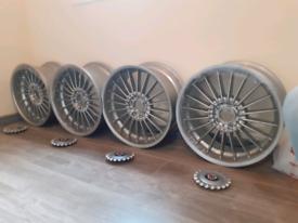 "19"" Genuine Alpina Alloy Wheels Fully Refurbished D3 BMW"