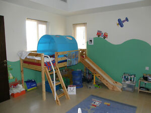 Kid's midrise Bunk Bed