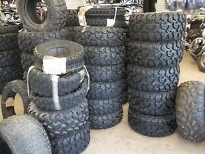ATV TIRES 50% off TRUCK LOAD SALE !!  IN STOCK ONLY !!