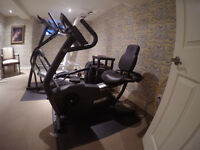 PRECOR C846 RECUMBENT EXERCISE BIKE (NEW)