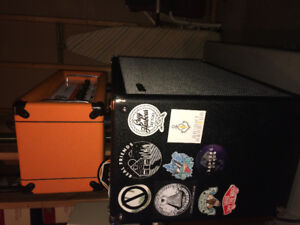 Orange amp/guitar rig