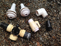 Lot of various pool parts