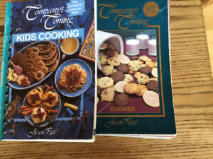 Company's Coming Kids Cooking and Cookies cookbooks