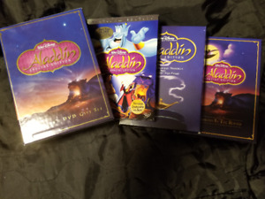 Disney's Aladdin DVD used Collector's Gift Set