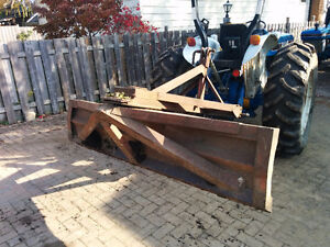 3pt Scraper blade 8' Very heavy sturdy &good Quality for tractor
