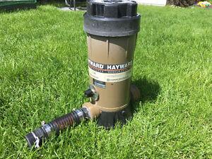 Hayward chlorine feeder