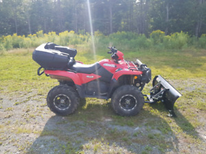 For sale:  2015 Suzuki King Quad 750