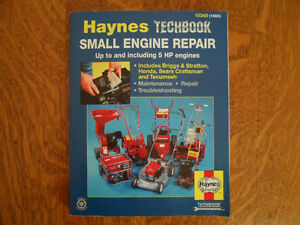 HAYNES TECHBOOK SMALL ENGINE REPAIR MANUAL