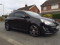 Vauxhall Corsa black edition 1.4 turbo finance and 6 months warranty