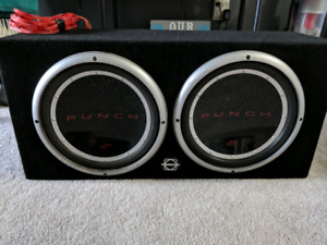 """Rockford Fosgate 12"""" Punch P1 with JL e1200 Amp"""