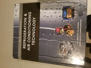 Hvac Refrigeration and Air Conditioning Technology book for sale