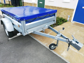 Lider 6x4 trailer with cover