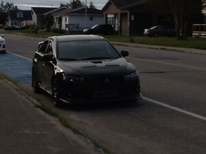 Lancer Évolution GSR 2013 with Handling package and much more