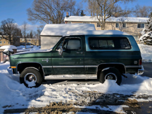 1983 K10 Chevy Blazer Southern US vehicle Rust free
