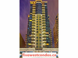 FIVE WEST CONDOS FOR SALE - DOWNTOWN, CALGARY