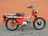 HONDA CT90 TRAIL 1979 MOT'd APRIL 2018