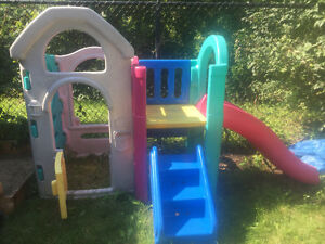 Fisher Price Playhouse with Slide