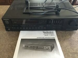 Technics SA-160 Quartz AM/FM Stereo Receiver