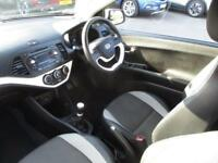 2012 Kia Picanto 1.25 Ecodynamics Halo 3dr 3 door Hatchback