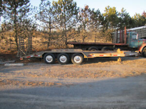 Triaxle Trailer