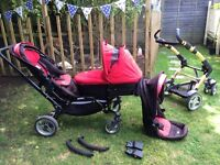 Obaby Tandem Pushchair - well used