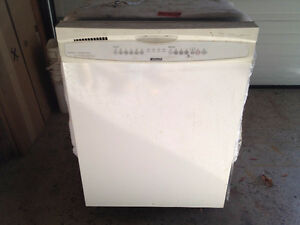 KENMORE white dishwasher