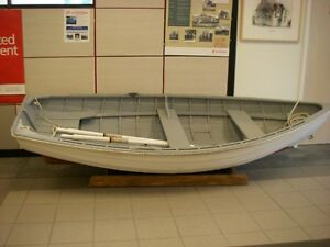 Vintage 10 ft Row boat