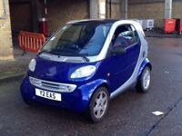 SMART PASSION CAR FOR TWO LEFT HAND DRIVE SEMI-AUTOMATIC
