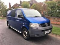 2009 Volkswagen Transporter 2.5 TDi PD (174PS) LWB T32 6 SEATER + AIR CON